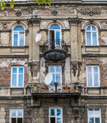 Fasada Kamienicy na Pradze, ul. Wileńska